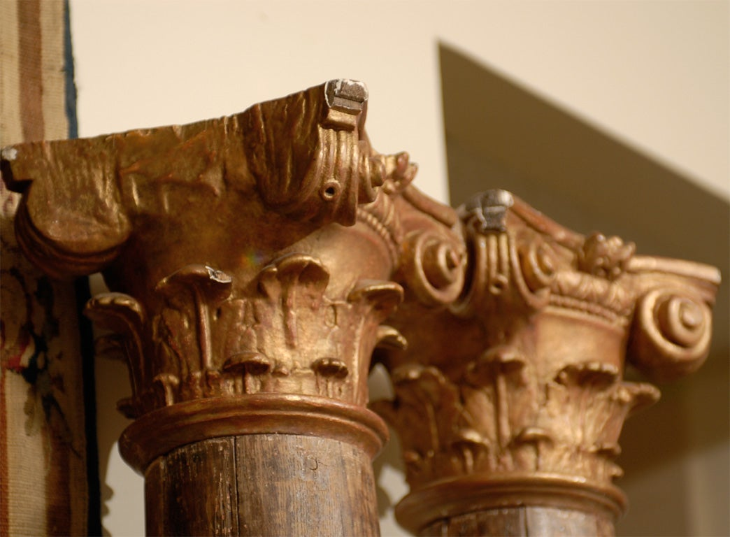 Pair of 18th Century Italian  Architectural Columns image 6