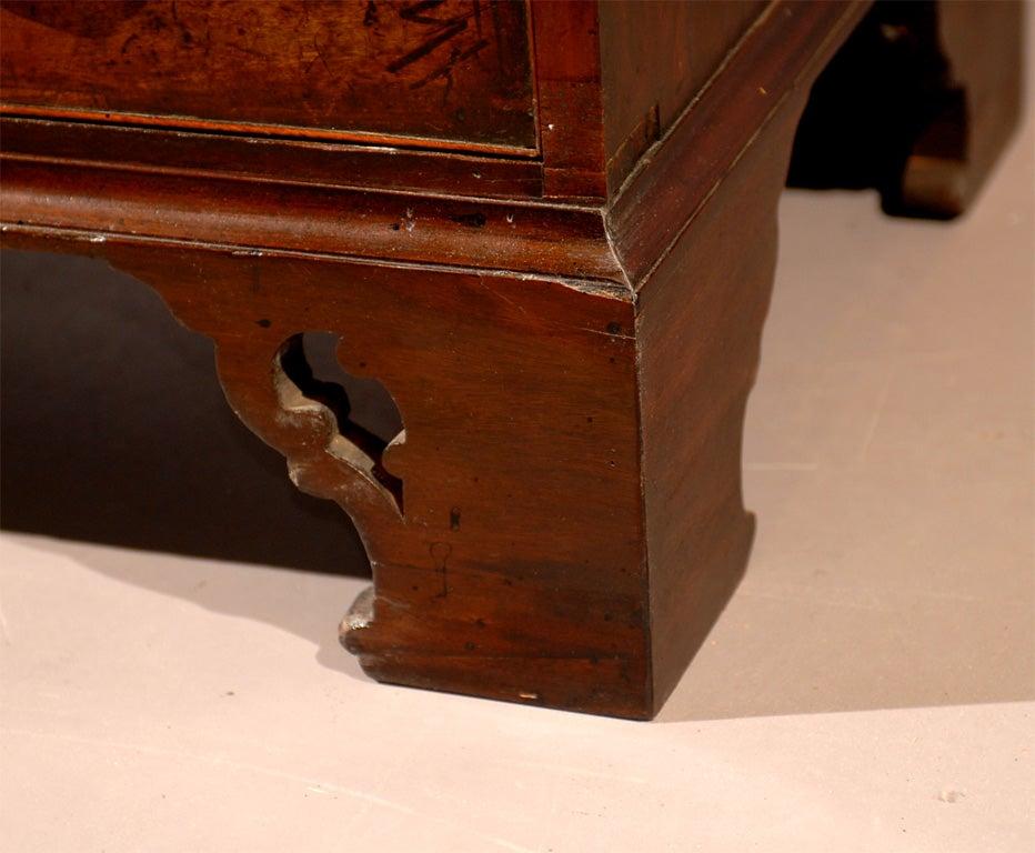 18th century English Bureau Bookcase in Mahogany, ca. 1760 8