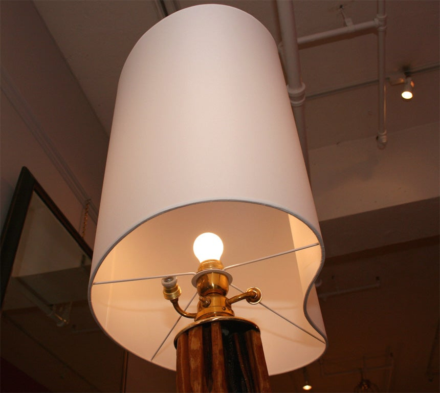 Floor lamp by Jacques Adnet 3