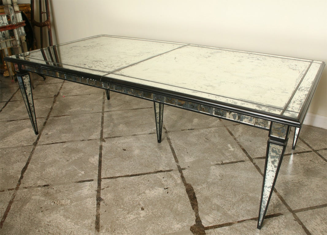 28 dining room table parts mirrored dining table in two dining room table parts mirrored dining table in two parts for sale at 1stdibs