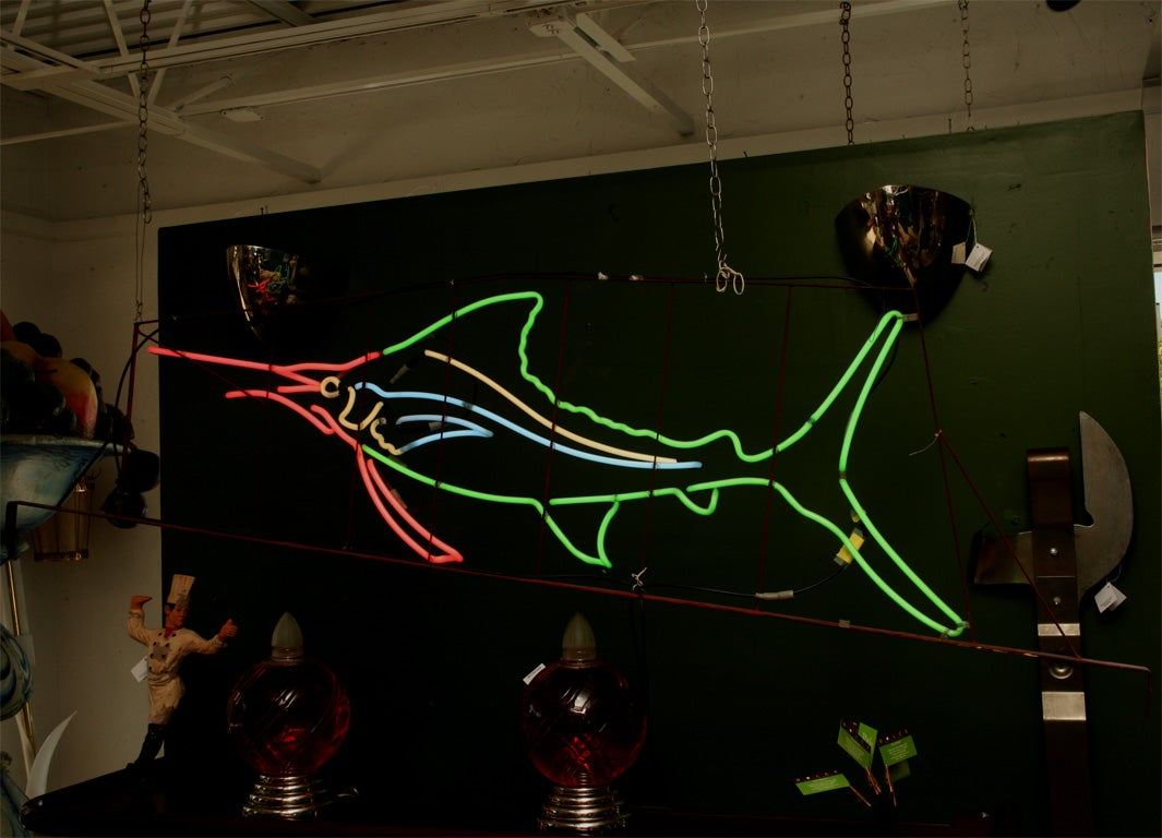 1950's Neon Sailfish image 2