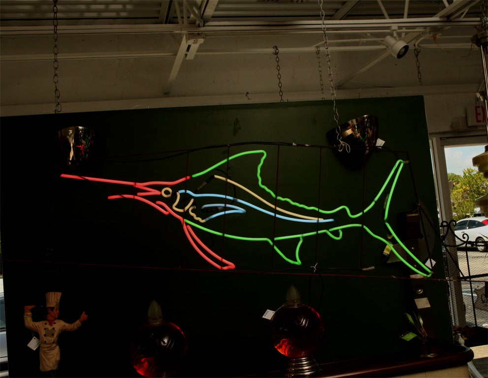 1950's Neon Sailfish image 3