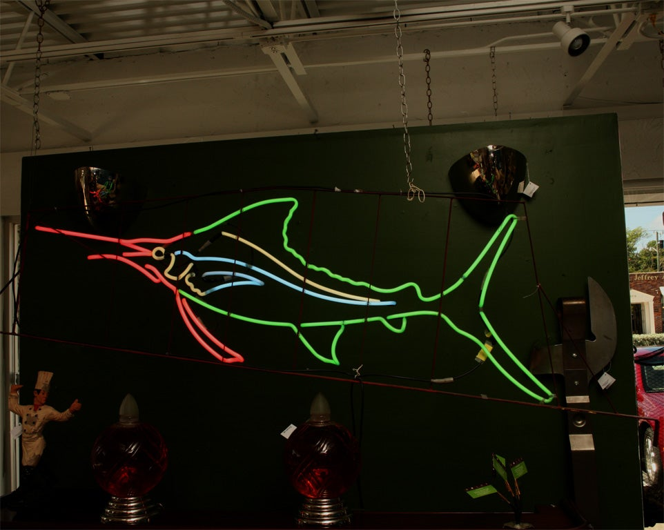 1950's Neon Sailfish image 5