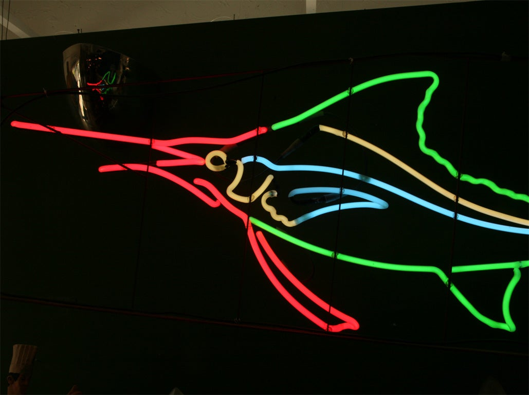 1950's Neon Sailfish image 6