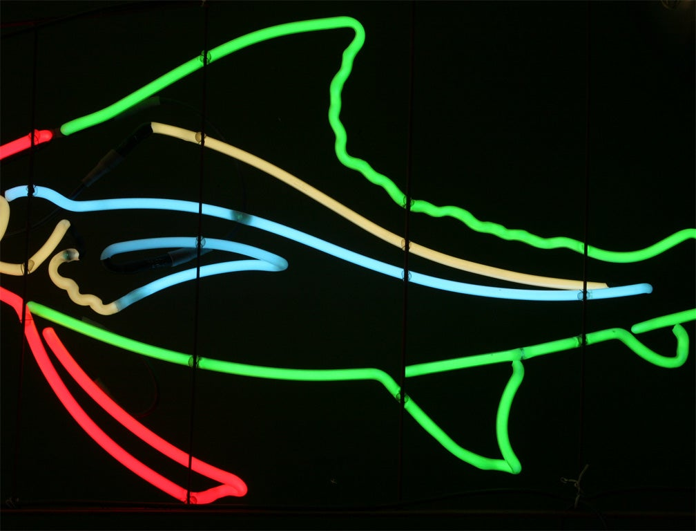 1950's Neon Sailfish image 8