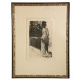 Sensual Hand Signed Lobel Riche Etching