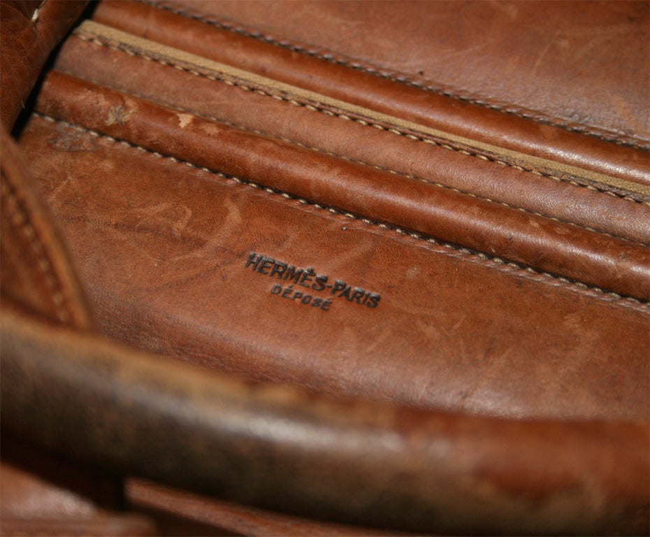 replica handbags made in china - Amazing Vintage Hermes Travel Bag at 1stdibs