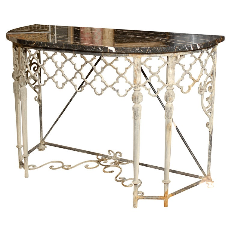 Marble Console Table : Sorry, this item from Franya Waide Antiques & Interiors is not ...