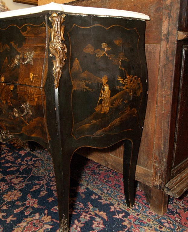 French Napoleon Iii Chiniosorie Commode For Sale At 1stdibs