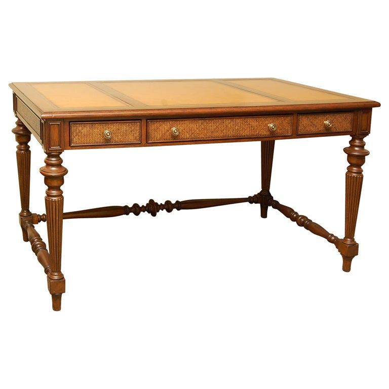 British Colonial Style Desk At 1stdibs