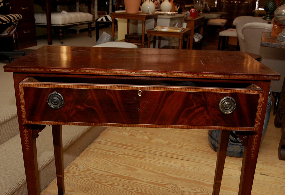 this mahogany hall table is no longer available