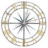 Monumental Skeleton Clock Face