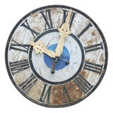 Lovely Metal Clock Face