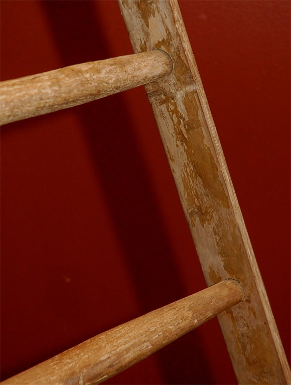 French Wooden Orchard Ladder For Sale 4