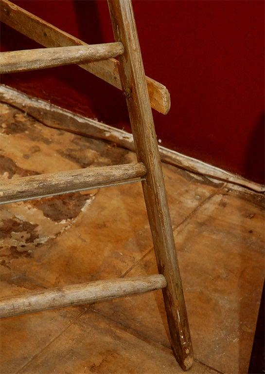 French Wooden Orchard Ladder For Sale 5