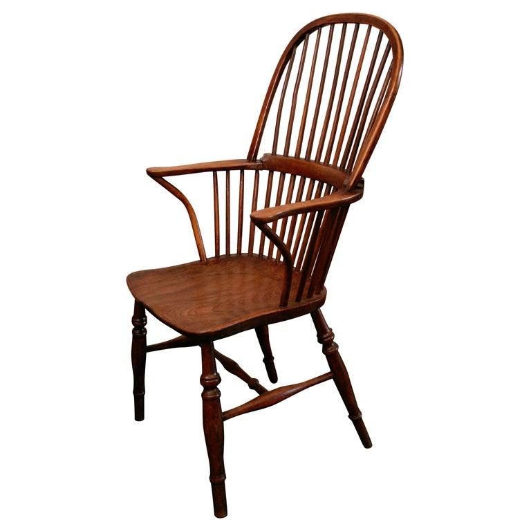 English Elm And Beech Windsor Chair At 1stdibs