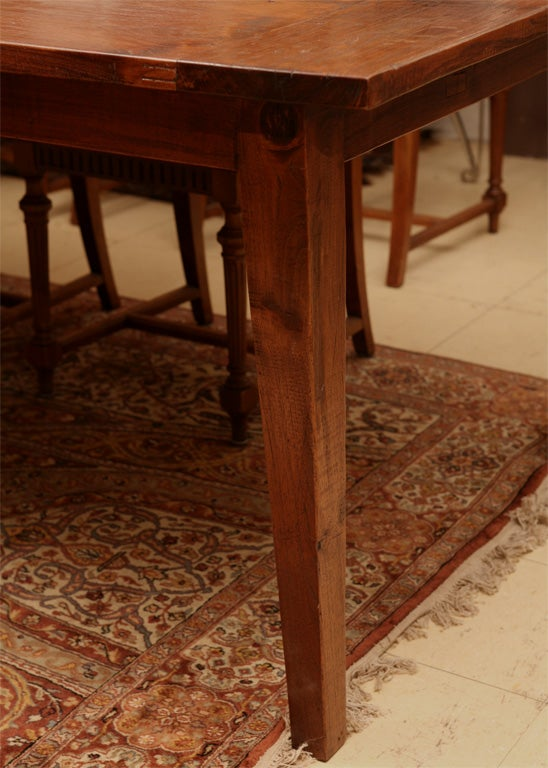 this 10 39 dutch colonial indoor or outdoor teak dining table is no