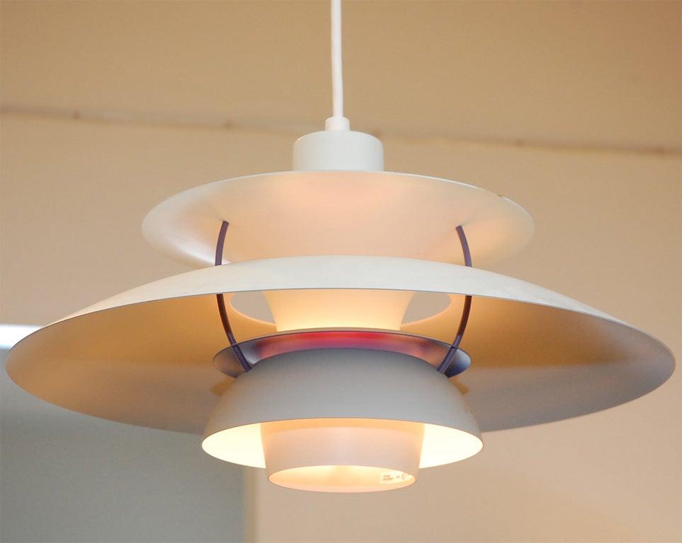 vintage poul henningsen for louis poulsen ph5 lamp at 1stdibs. Black Bedroom Furniture Sets. Home Design Ideas