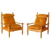 Rare Maurice Pre Arm Chairs