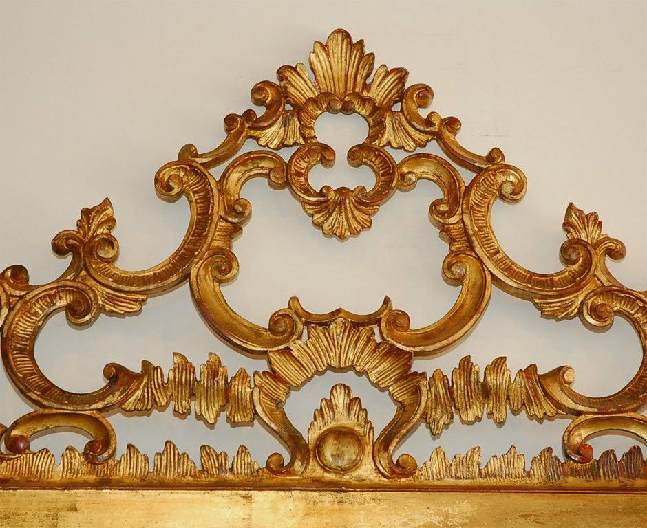 Carved Baroque Italian Headboard