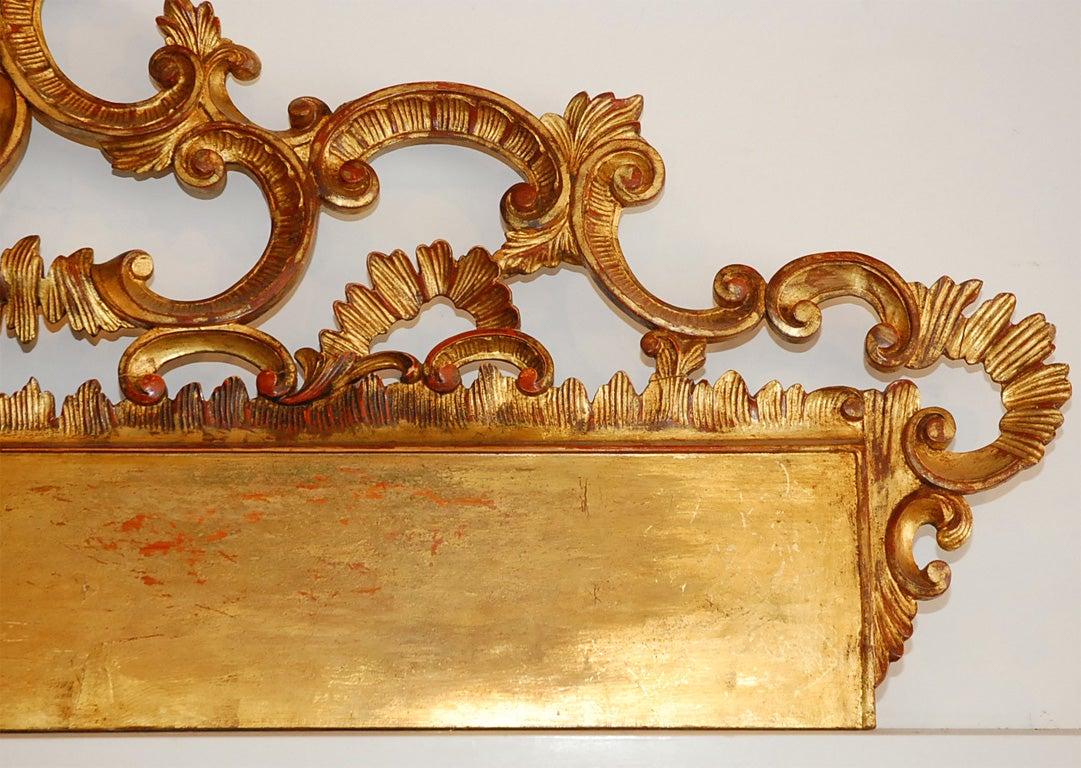 Mid-20th Century Baroque Italian Headboard