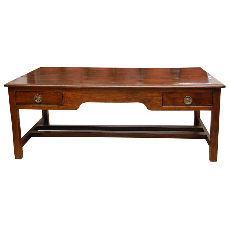 19th Century British Colonial Coffee Table At 1stdibs