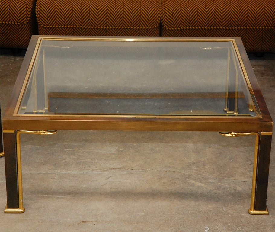 1960s Coffee Table By Maison Jansen At 1stdibs