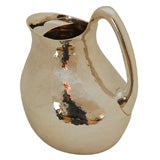 Hand Chased Sterling Silver Pitcher by Tane