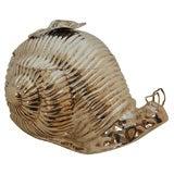 Italian Silver Plated Snail Ice Bucket