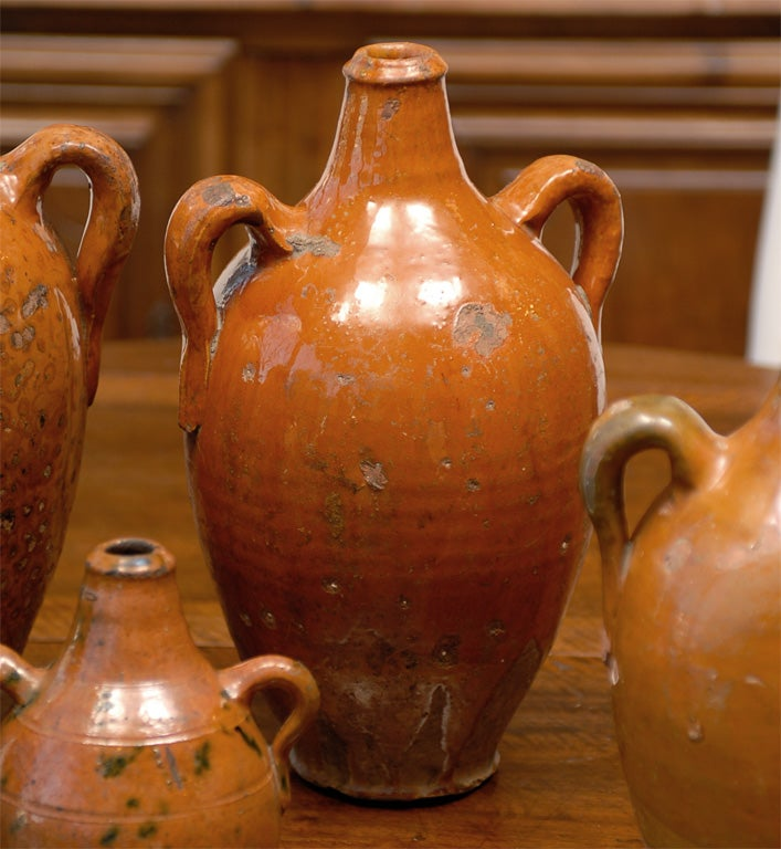 Collection Of 18th Century Spanish Terra Cotta Jugs At 1stdibs