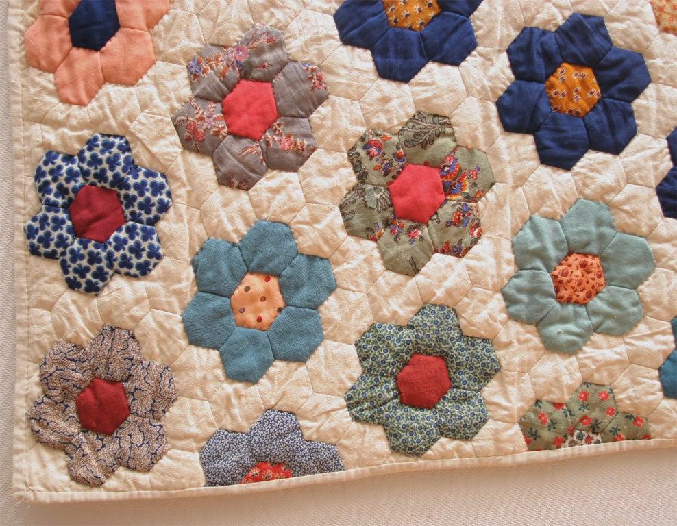 Cotton Antique Quilt For Sale