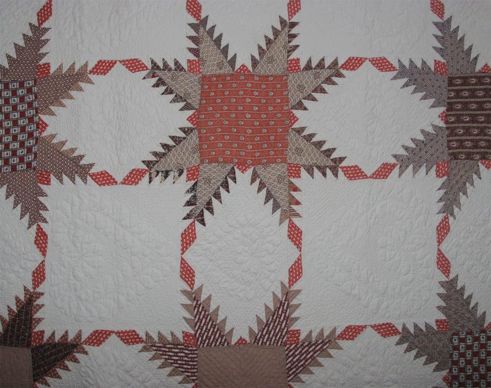 19th Century Antique quilt For Sale