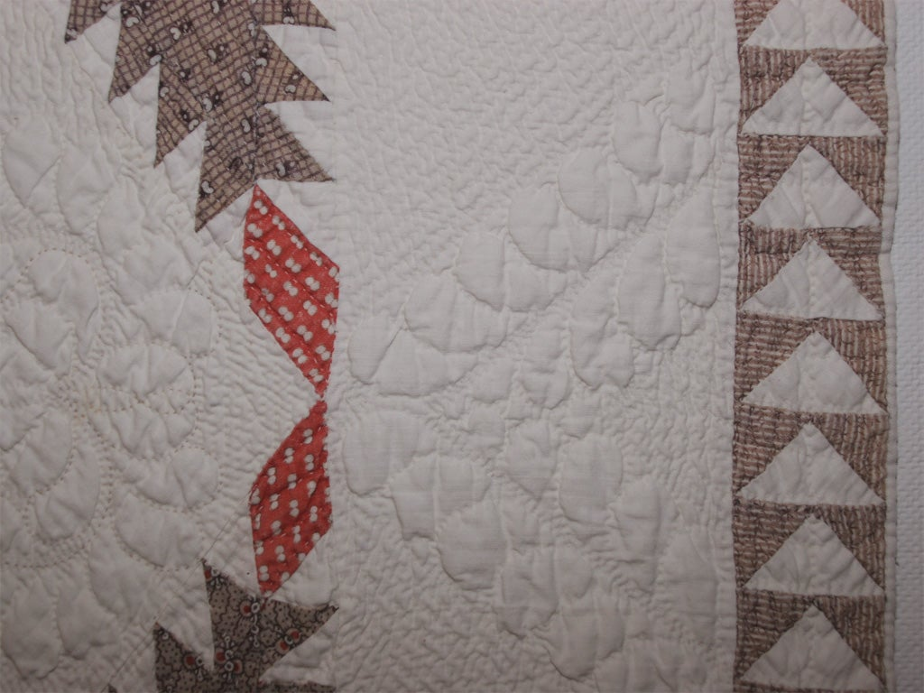 Cotton Antique quilt For Sale