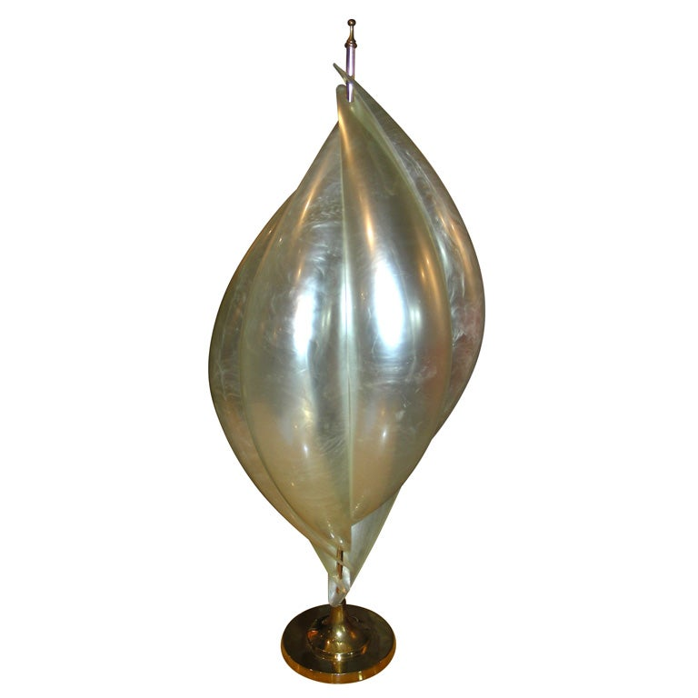 1970s tulip shaped lamp at 1stdibs - Artistic d lamp shade designed with modern and elegant shape style ...