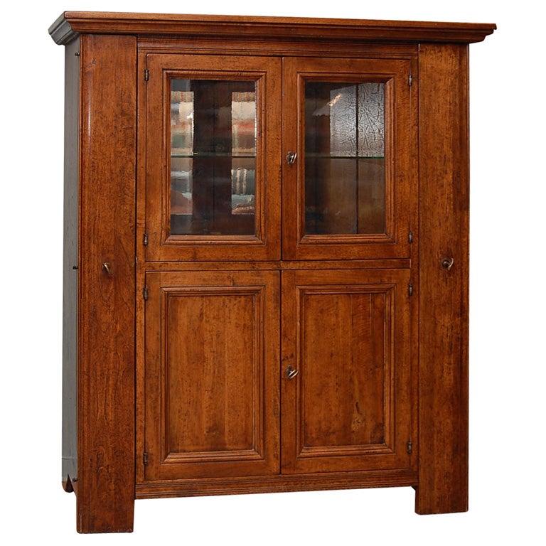 Walnut Pantry Cabinet At 1stdibs