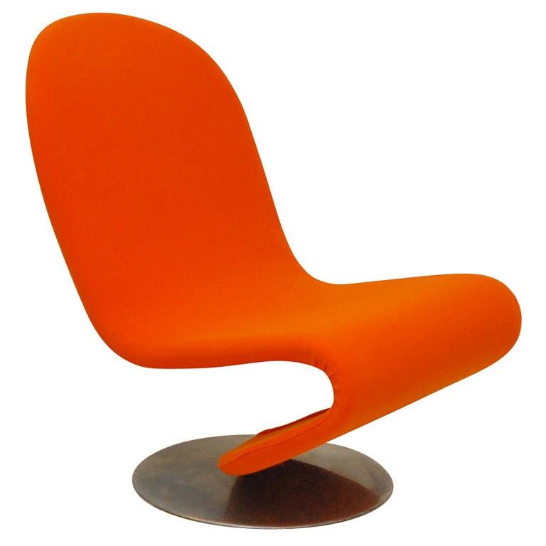 verner panton system 1 2 3 lounge chair at 1stdibs. Black Bedroom Furniture Sets. Home Design Ideas