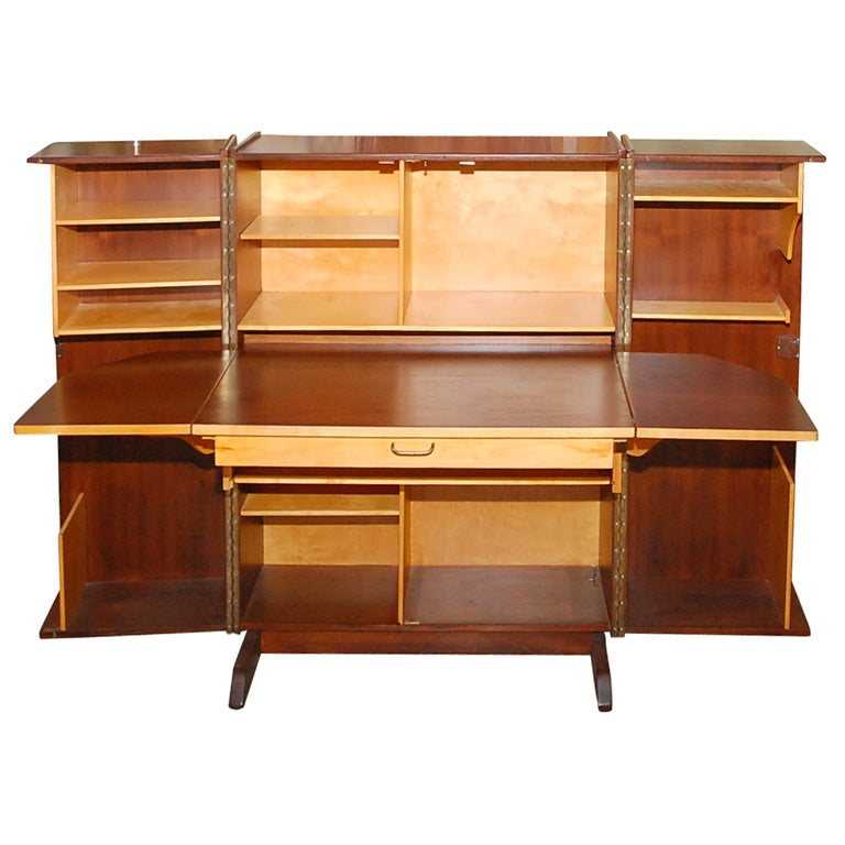 compact desk cabinet at 1stdibs