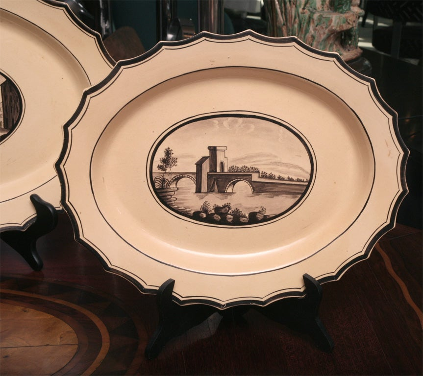 Set of Six  Neoclassical Neapolitan Plates 6
