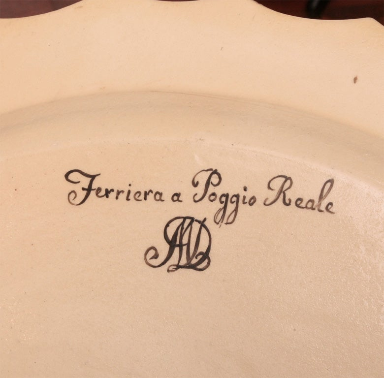 Set of Six  Neoclassical Neapolitan Plates 8