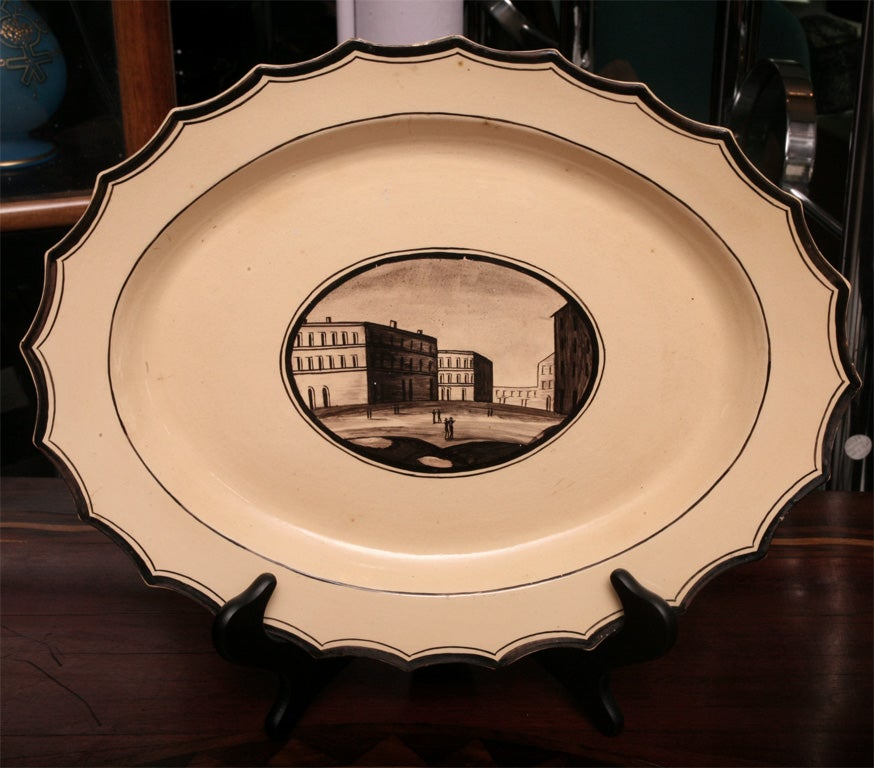 Set of Six  Neoclassical Neapolitan Plates 9