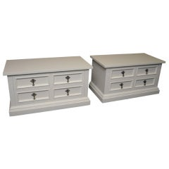 Pair of John Stuart Chests