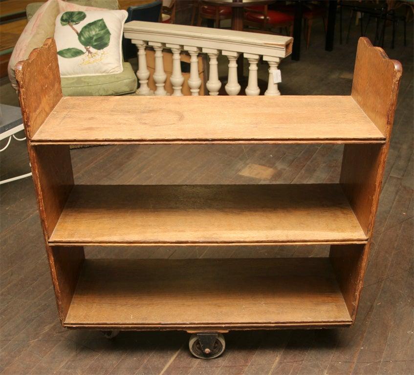 Quarter Sawn Oak Wooden Cart at 1stdibs : IMG7682 from www.1stdibs.com size 847 x 768 jpeg 109kB