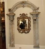 Large Arched Polychrome Door Frame image 9