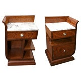 Art Deco Side Tables/ Night Stands
