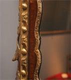 George II Antique Parcel-Gilt Mirror, English/Irish c.1750 image 5
