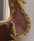 George II Antique Parcel-Gilt Mirror, English/Irish c.1750 image 7