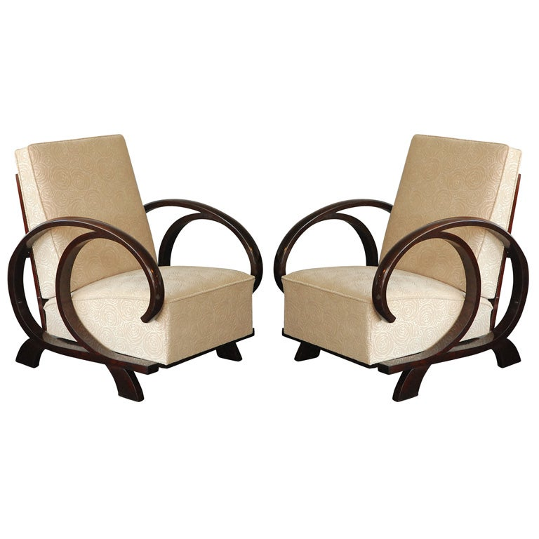 Art Deco Lounge Chairs At 1stdibs