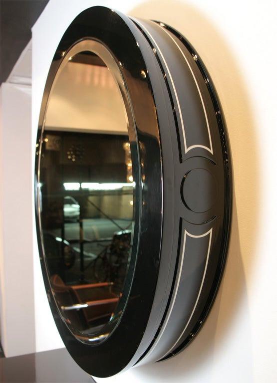 Sensational Lacquer Framed Mirror 3