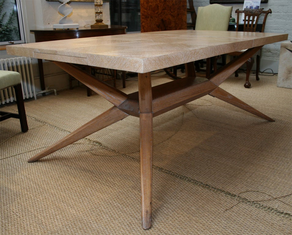 1950S Limed Oak Extending Dining Table at 1stdibs : IMG7275 from www.1stdibs.com size 953 x 768 jpeg 170kB