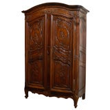 Late 18th Century Walnut Armoire from Avignon